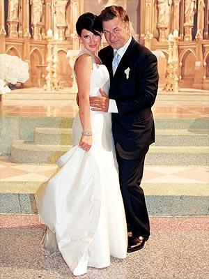 Алек Болдуин и Хиллария Томас. Свадьба