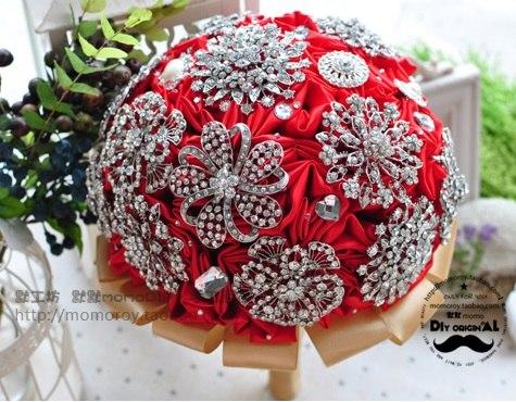 Необычный свадебный букет невесты