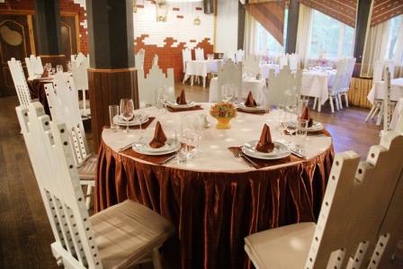 Свадебный банкет в пансионате Акварели
