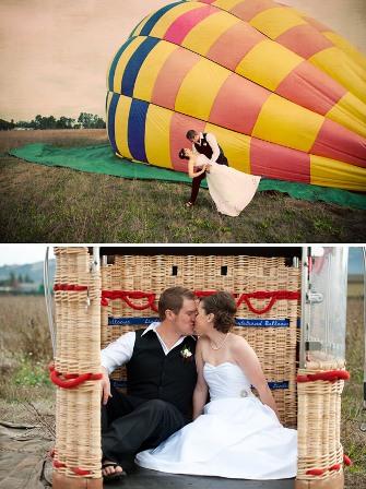 Необычные свадьбы: свадьба в небе