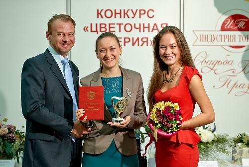 Бутик цветов Софи на флористическом конкурсе Цветочная феерия