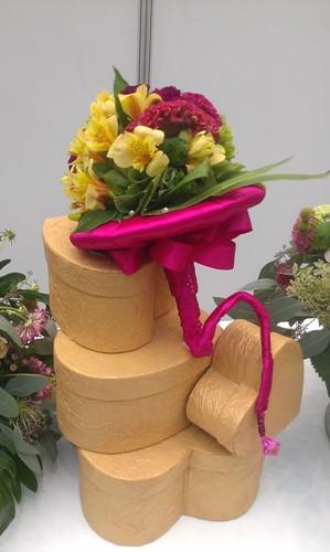 Бутик цветов Феерия на выставке Индустрия торжества