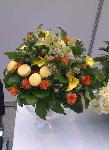 Флористический конкурс Цветочная феерия на выставке Индустрия торжества