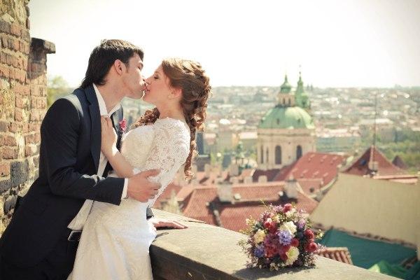 Организация свадьбы за границей: свадьба в Праге