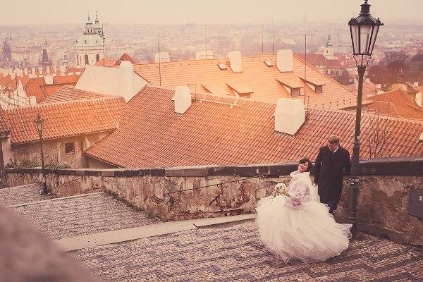 Организация свадьбы в Чехии: свадьба в Праге