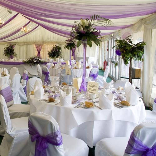 Варианты расстановки столов на свадьбе
