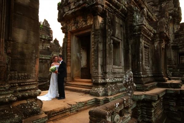 Где сыграть свадьбу за рубежом? Камбоджа, Ангкор Ват