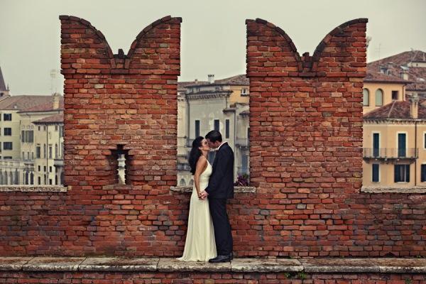 Верона — райский уголок для весенней свадьбы