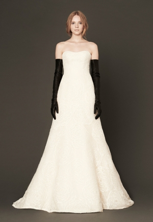 Свадебное платье от Веры Вонг