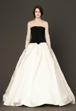 Свадебный наряд от Веры Вонг