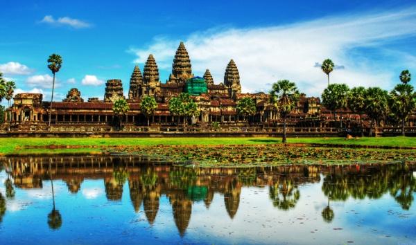 Где сыграть свадьбу за границей? Камбоджа, Ангкор Ват