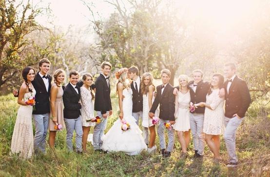 Свадьба хипстеров
