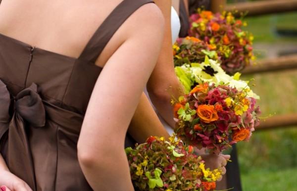 Свадьба осенью: букет