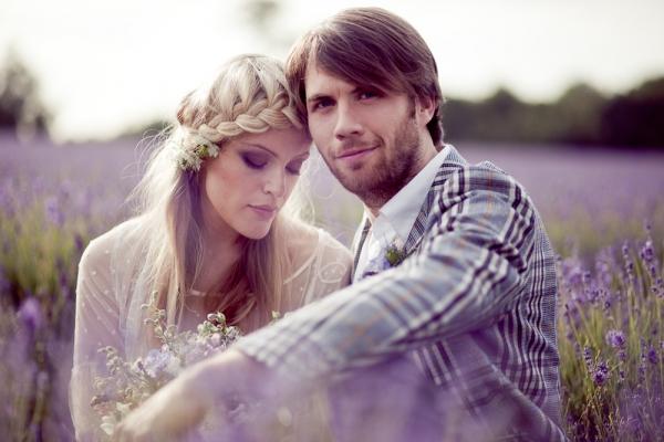 Свадебная фотосессия свадьбы в стиле Прованс