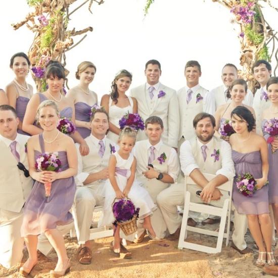 Сценарий лавандовой свадьбы