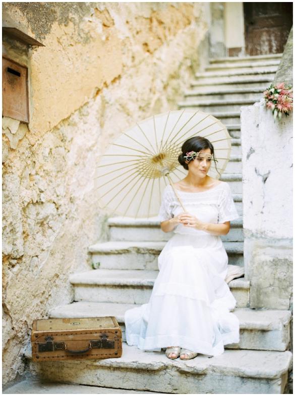 Образ невесты для свадьбы в стиле Прованс