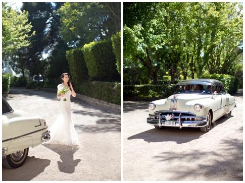 Лимузин на свадьбу в стиле Прованс