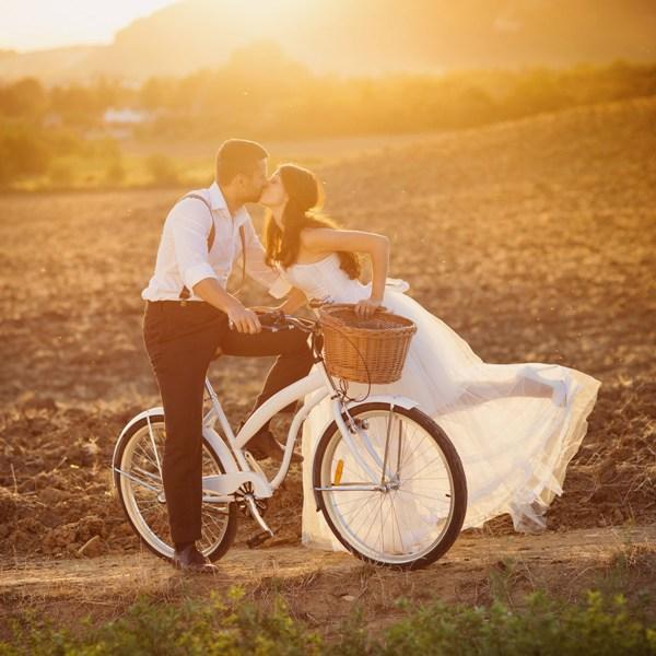 Свадебная фотосессия тематической свадьбы