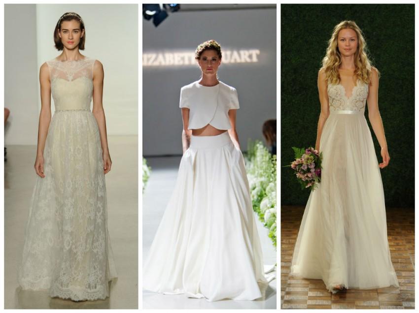 Свадебная мода. Осень 2014