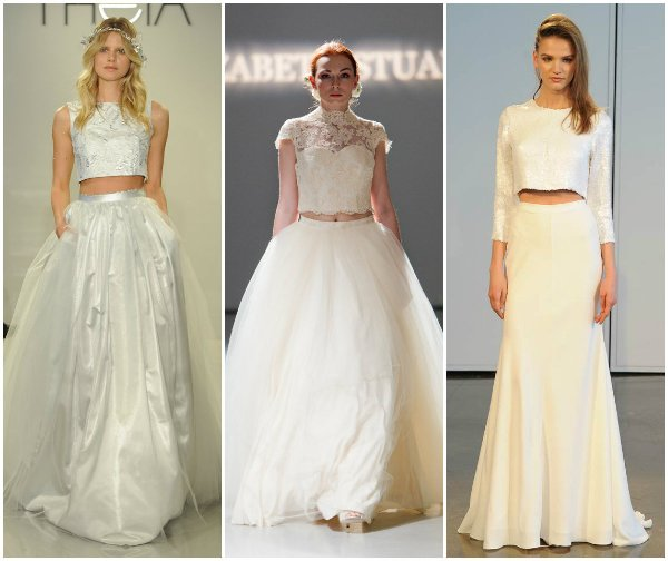 Тенденции в свадебной моде 2014