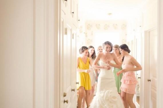 Невесты и подруги в предсвадебное утро