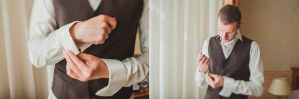 Утро свадьбы: сборы жениха