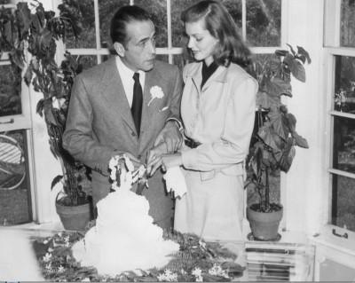 Свадебное видео Лорен Бэколл и Хамфри Богарта 1944 г.