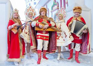 Свадьбы в русском народном стиле зимой 71
