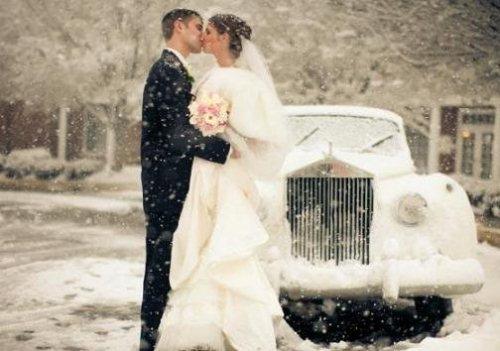 Как выбрать зимнее свадебное платье?