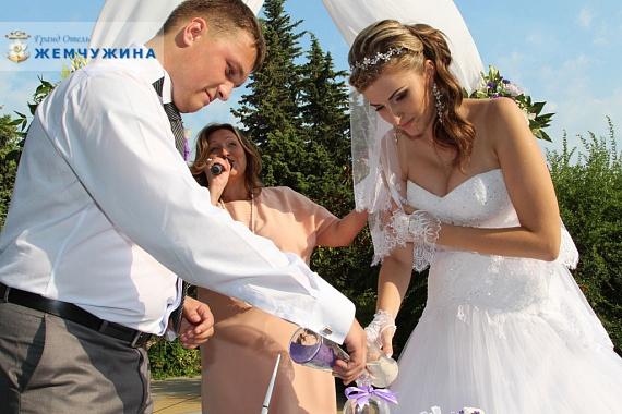 Свадьба в «Жемчужине» на море