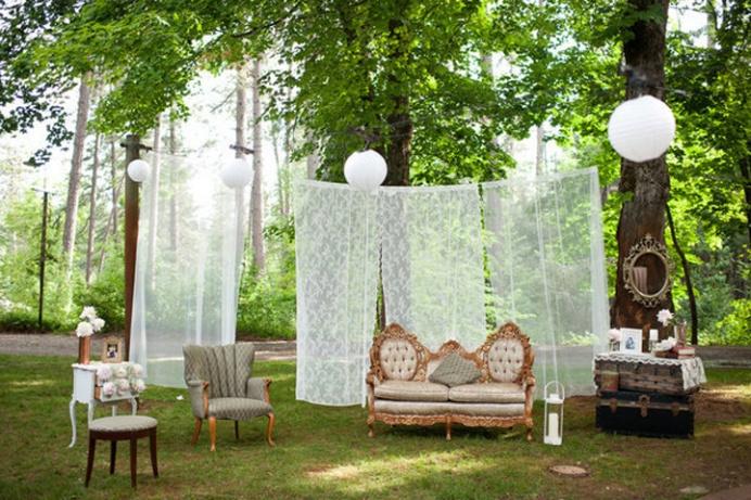 Свадебная фотосессия: как оформить фотозону на свадьбе