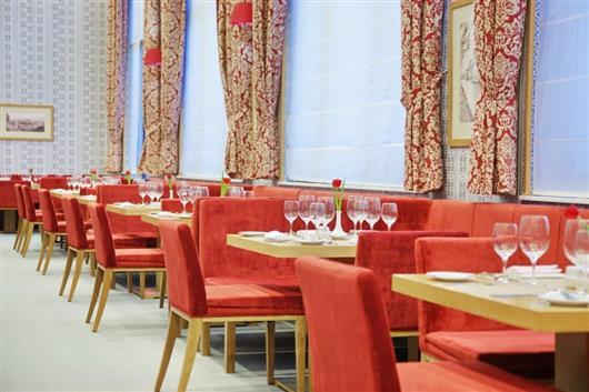 Ресторан и бар гостиницы Tulip Inn Роза Хутор