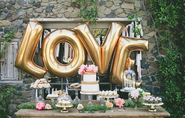 Воздушные шары на свадьбе: актуальные тенденции