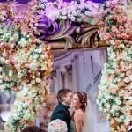 В банкетном зале «Европейский» 22 мая сочетали браком победителей проекта «Выиграй свадьбу на 10 000 000 руб.»