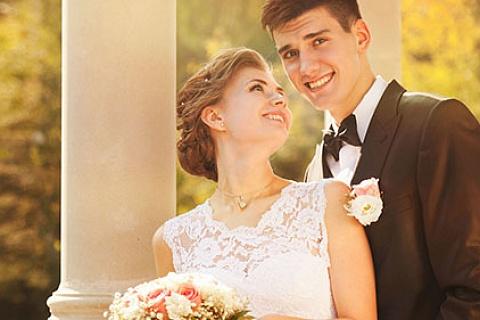 «Космическое» свадебное путешествие!