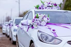 Кортеж для свадебного торжества
