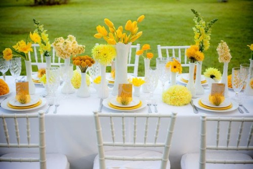Свадьба в «солнечной» стилистике