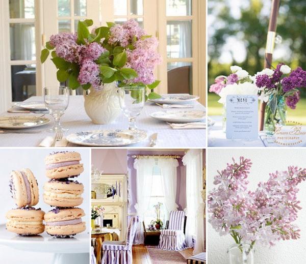 Сиреневая свадьба: нежность и романтика