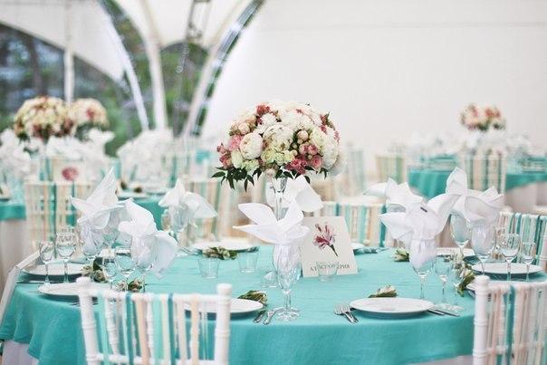 Свадьба в голубом цвете: невинность и светлость