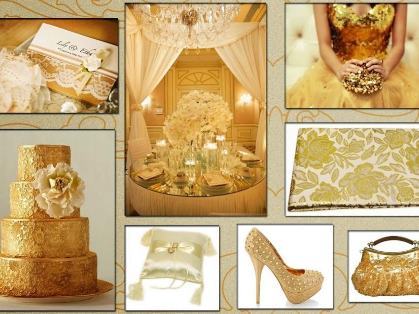 Свадьба в золотом цвете — отмечаем по-царски!
