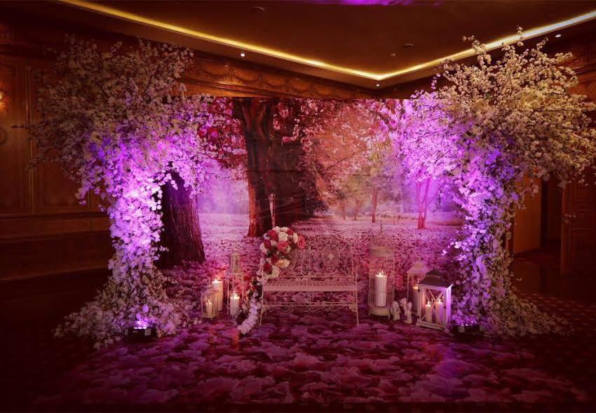 Королевская свадьба в зале МОНАРХ.