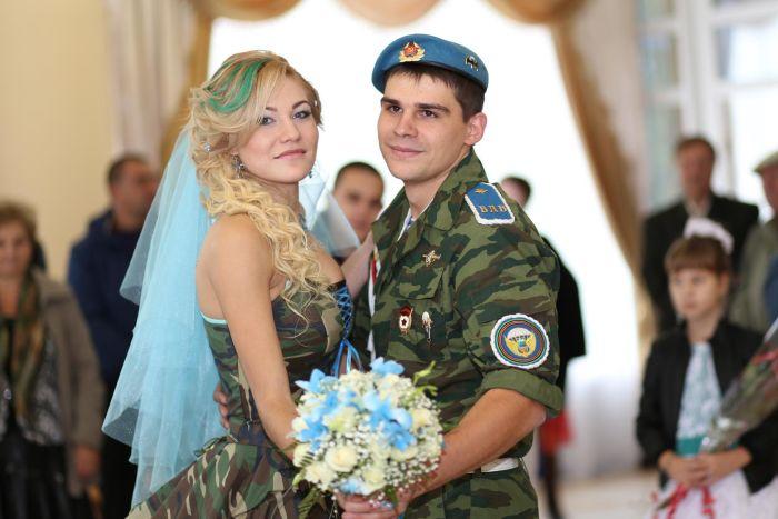 Свадьба «Military»: стильный выбор сильных личностей