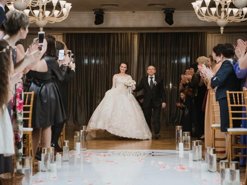 Нетипичная зимняя свадьба Валерия и Надежды