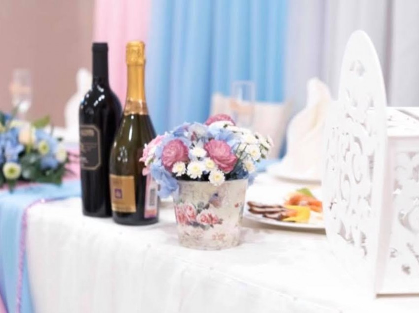Красивая свадьба в ресторане laVERONA.