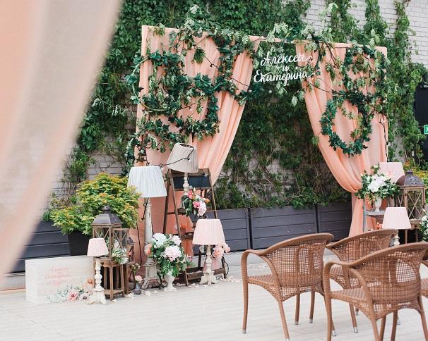 Свадьба Екатерины и Алексея в Зимнем саду