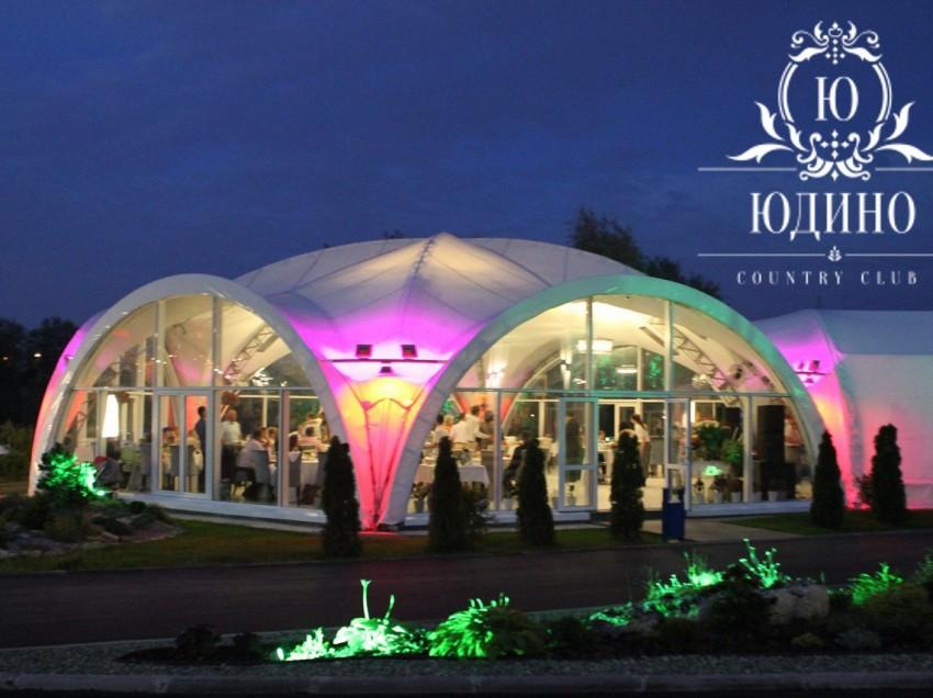 Шикарная и необычная свадьба в Юдино Парк Country Club.