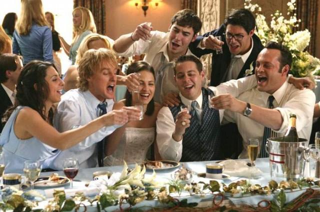 Гости на свадьбе: правила поведения