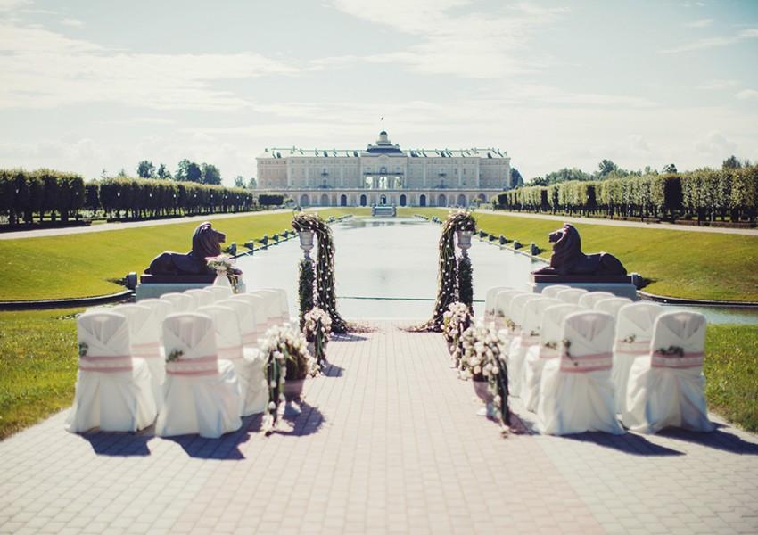 Свадьба в Петербурге: дворцовая роскошь, воздушная романтика