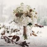 Зимний свадебный букет: 3 секрета красоты