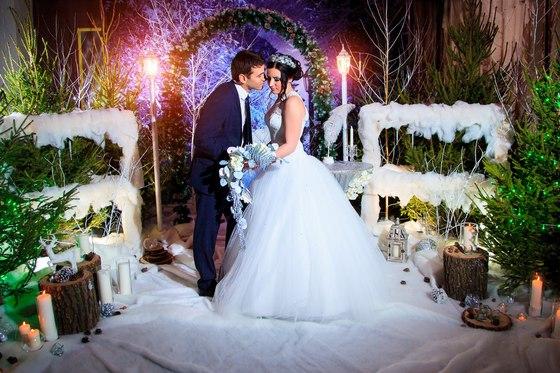 Сказка зимней свадьбы: секреты составляющих. Часть 2.